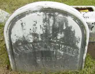POWELL, ASAHEL A - Berkshire County, Massachusetts | ASAHEL A POWELL - Massachusetts Gravestone Photos