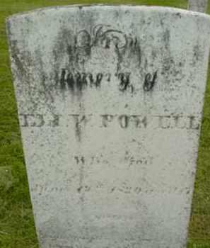 POWELL, ELI W - Berkshire County, Massachusetts | ELI W POWELL - Massachusetts Gravestone Photos