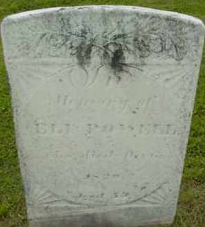 POWELL, ELI - Berkshire County, Massachusetts   ELI POWELL - Massachusetts Gravestone Photos