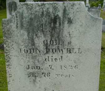 POWELL, JOHN - Berkshire County, Massachusetts   JOHN POWELL - Massachusetts Gravestone Photos