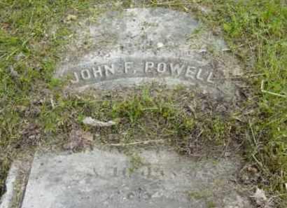POWELL, JOHN F - Berkshire County, Massachusetts | JOHN F POWELL - Massachusetts Gravestone Photos
