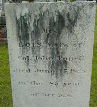 POWELL, LOIS - Berkshire County, Massachusetts | LOIS POWELL - Massachusetts Gravestone Photos