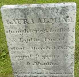 POWELL, LAURA ALMINA - Berkshire County, Massachusetts   LAURA ALMINA POWELL - Massachusetts Gravestone Photos