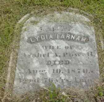 POWELL, LYDIA - Berkshire County, Massachusetts | LYDIA POWELL - Massachusetts Gravestone Photos