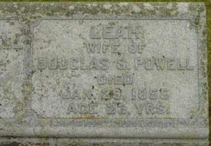 POWELL, LEAH - Berkshire County, Massachusetts   LEAH POWELL - Massachusetts Gravestone Photos
