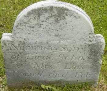 POWELL, NORMAN - Berkshire County, Massachusetts   NORMAN POWELL - Massachusetts Gravestone Photos