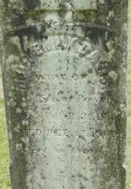 POWELL, RUTH EMILY - Berkshire County, Massachusetts   RUTH EMILY POWELL - Massachusetts Gravestone Photos