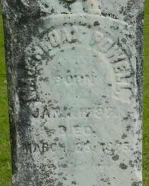POWELL, SLOAN - Berkshire County, Massachusetts | SLOAN POWELL - Massachusetts Gravestone Photos