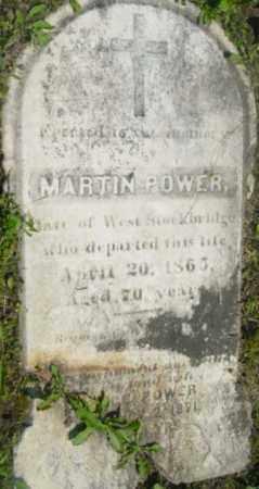 POWER, MARTIN - Berkshire County, Massachusetts | MARTIN POWER - Massachusetts Gravestone Photos