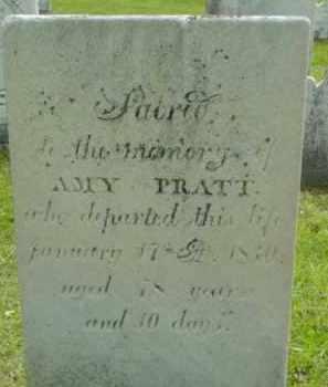 PRATT, AMY - Berkshire County, Massachusetts | AMY PRATT - Massachusetts Gravestone Photos