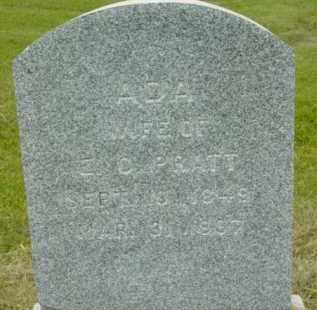 PRATT, ADA - Berkshire County, Massachusetts | ADA PRATT - Massachusetts Gravestone Photos