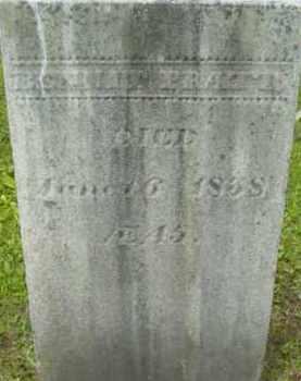 PRATT, BENNET - Berkshire County, Massachusetts | BENNET PRATT - Massachusetts Gravestone Photos