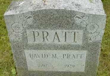 PRATT, DAVID M - Berkshire County, Massachusetts | DAVID M PRATT - Massachusetts Gravestone Photos