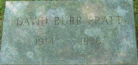 PRATT, DAVID BURR - Berkshire County, Massachusetts | DAVID BURR PRATT - Massachusetts Gravestone Photos