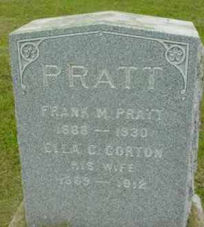 PRATT, ELLA C - Berkshire County, Massachusetts | ELLA C PRATT - Massachusetts Gravestone Photos