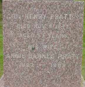 PRATT, HENRY - Berkshire County, Massachusetts | HENRY PRATT - Massachusetts Gravestone Photos