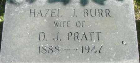PRATT, HAZEL J - Berkshire County, Massachusetts | HAZEL J PRATT - Massachusetts Gravestone Photos