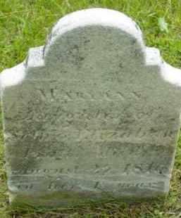 PRATT, MARY ANN - Berkshire County, Massachusetts | MARY ANN PRATT - Massachusetts Gravestone Photos
