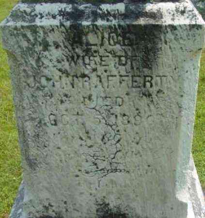 RAFFERTY, ALICE - Berkshire County, Massachusetts | ALICE RAFFERTY - Massachusetts Gravestone Photos