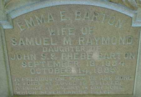 BARTON, EMMA E - Berkshire County, Massachusetts | EMMA E BARTON - Massachusetts Gravestone Photos