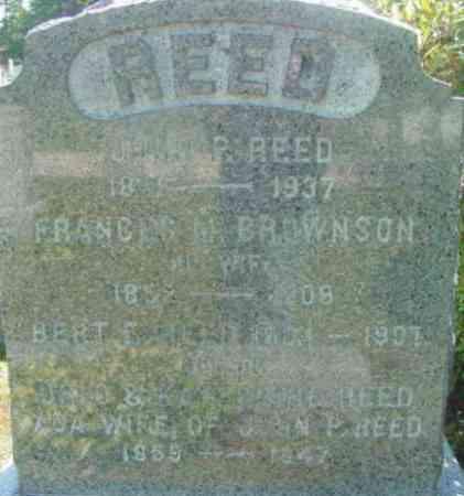 BROWNSON, FRANCES M - Berkshire County, Massachusetts   FRANCES M BROWNSON - Massachusetts Gravestone Photos