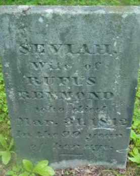 REYMOND, SEVIAH - Berkshire County, Massachusetts | SEVIAH REYMOND - Massachusetts Gravestone Photos
