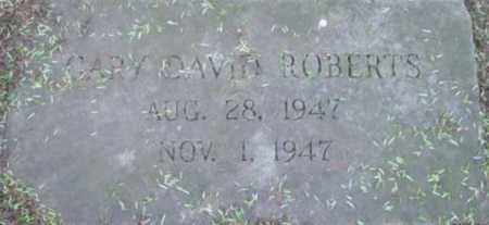 ROBERTS, GARY DAVID - Berkshire County, Massachusetts | GARY DAVID ROBERTS - Massachusetts Gravestone Photos