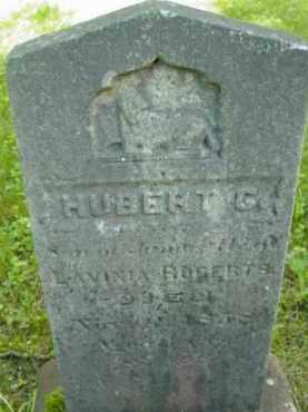 ROBERTS, HUBERT G - Berkshire County, Massachusetts | HUBERT G ROBERTS - Massachusetts Gravestone Photos