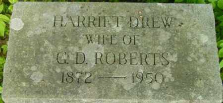 ROBERTS, HARRIET - Berkshire County, Massachusetts | HARRIET ROBERTS - Massachusetts Gravestone Photos