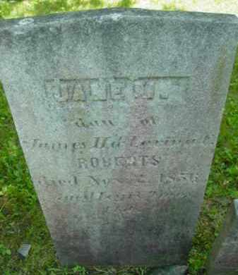 ROBERTS, JANE M - Berkshire County, Massachusetts | JANE M ROBERTS - Massachusetts Gravestone Photos