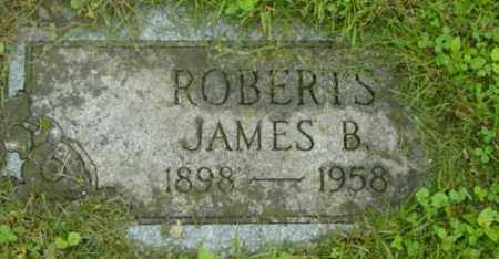 ROBERTS, JAMES B - Berkshire County, Massachusetts | JAMES B ROBERTS - Massachusetts Gravestone Photos