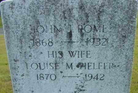 ROME, JOHN J - Berkshire County, Massachusetts | JOHN J ROME - Massachusetts Gravestone Photos