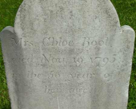 ROOT, CHLOE - Berkshire County, Massachusetts | CHLOE ROOT - Massachusetts Gravestone Photos