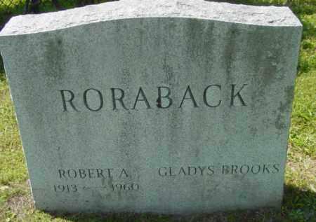 BROOKS, GLADYS - Berkshire County, Massachusetts | GLADYS BROOKS - Massachusetts Gravestone Photos