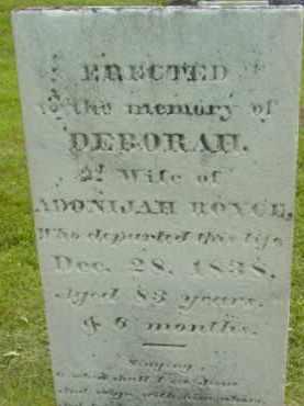 BARKER, DEBORAH - Berkshire County, Massachusetts | DEBORAH BARKER - Massachusetts Gravestone Photos