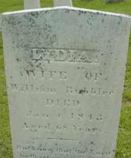 RUBBLEE, LYDIA - Berkshire County, Massachusetts | LYDIA RUBBLEE - Massachusetts Gravestone Photos