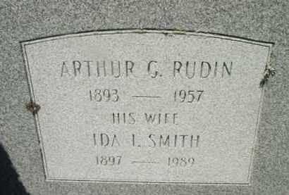 SMITH RUDIN, IDA L - Berkshire County, Massachusetts | IDA L SMITH RUDIN - Massachusetts Gravestone Photos