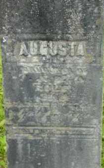 RULE, AUGUSTA - Berkshire County, Massachusetts   AUGUSTA RULE - Massachusetts Gravestone Photos