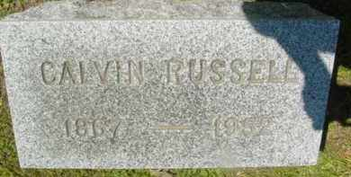 RUSSELL, CALVIN - Berkshire County, Massachusetts | CALVIN RUSSELL - Massachusetts Gravestone Photos