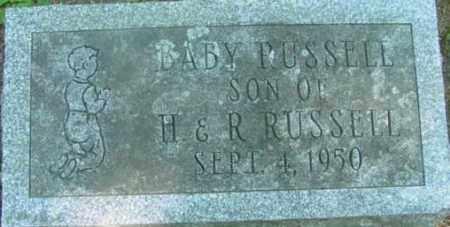 RUSSELL, INFANT - Berkshire County, Massachusetts | INFANT RUSSELL - Massachusetts Gravestone Photos