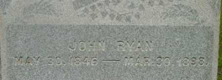 RYAN, JOHN - Berkshire County, Massachusetts | JOHN RYAN - Massachusetts Gravestone Photos