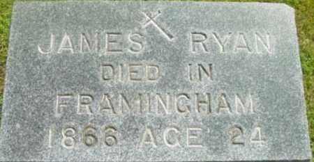 RYAN, JAMES - Berkshire County, Massachusetts | JAMES RYAN - Massachusetts Gravestone Photos