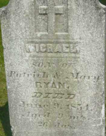RYAN, MICHAEL - Berkshire County, Massachusetts | MICHAEL RYAN - Massachusetts Gravestone Photos