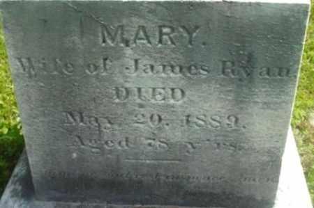 RYAN, MARY - Berkshire County, Massachusetts   MARY RYAN - Massachusetts Gravestone Photos