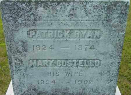 RYAN, PATRICK - Berkshire County, Massachusetts   PATRICK RYAN - Massachusetts Gravestone Photos