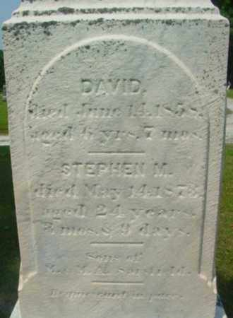 SARSFIELD, DAVID - Berkshire County, Massachusetts | DAVID SARSFIELD - Massachusetts Gravestone Photos