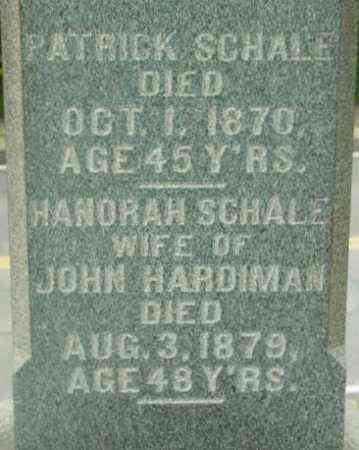 SCHALE, PATRICK - Berkshire County, Massachusetts | PATRICK SCHALE - Massachusetts Gravestone Photos