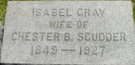 GRAY, ISABEL - Berkshire County, Massachusetts | ISABEL GRAY - Massachusetts Gravestone Photos