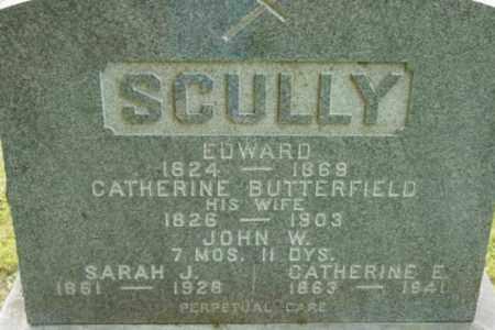SCULLY, EDWARD - Berkshire County, Massachusetts | EDWARD SCULLY - Massachusetts Gravestone Photos