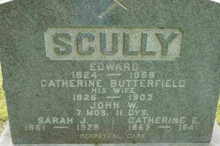 SCULLY, CATHERINE E - Berkshire County, Massachusetts | CATHERINE E SCULLY - Massachusetts Gravestone Photos
